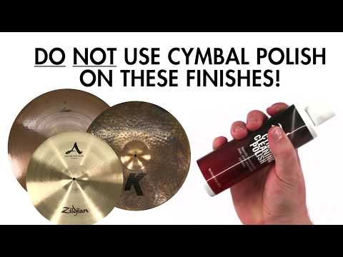 How To Clean Your Cymbals The Right Way