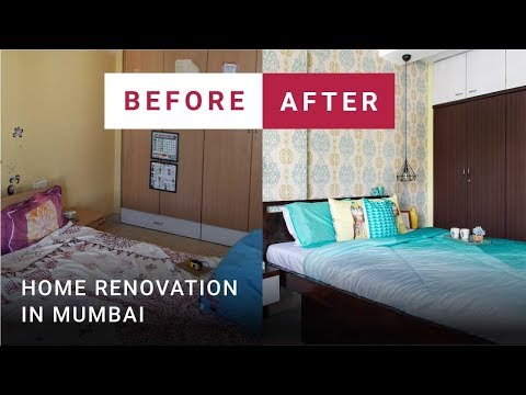 Before & After | Mumbai home renovation—interiors with maximum storage