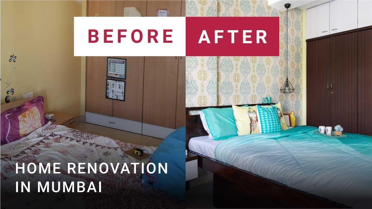 Before After Mumbai Home Renovation Interiors With Maximum
