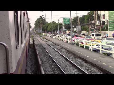 SRT Southern Line Special Exp 86 Night Train Thailand การรถไฟแห่งประเทศไทยทางรถไฟสายใต้ (Part 3)