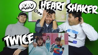 TWICE - HEART SHAKER MV REACTION (FUNNY FANBOYS)