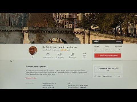 les locataires parisiens vont pouvoir sous louer leur appartement avec airbnb youtube. Black Bedroom Furniture Sets. Home Design Ideas