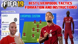 BEST LIVERPOOL Formation, Best Tactics and Instructions - FIFA 19 TUTORIAL