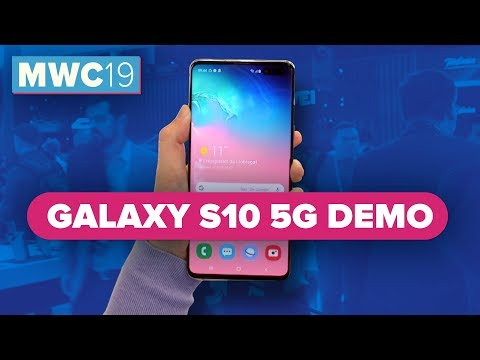 Galaxy S10 5G hands-on at MWC 2019