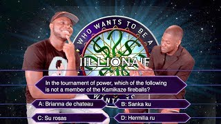WHO WANTS TO BE A MILLIONAIRE (ANIME EDITION)
