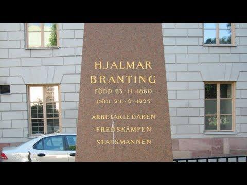Adolf Fredriks kyrkogård:  Hjalmar Branting