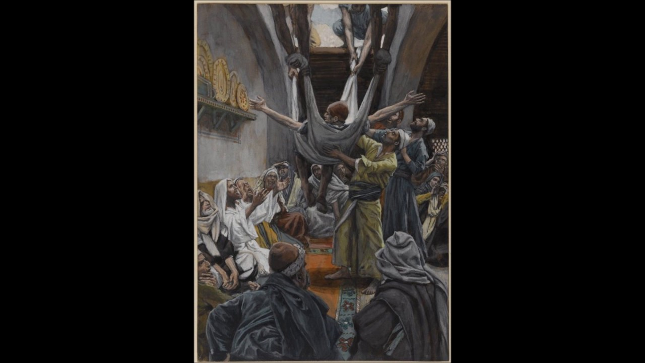 Sermon On Matthew 9 1 8 Mark 2 1 12 Jesus Heals A
