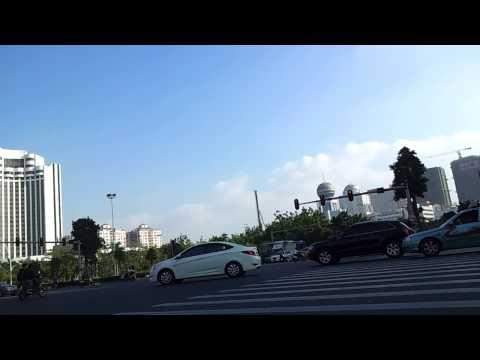 Shantou, China Traffic
