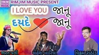 BHARAT PAGI I LOVE YOU JANU DAYDE DIL JANU TIMLI SONG 2018 RIMJIM MUSIC DAHOD