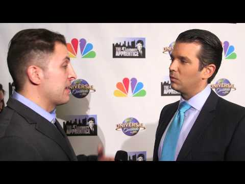 "Donald Trump Jr. at the ""Celebrity Apprentice"" Season 7 Finale with BTVRtv"