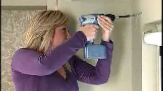 How-to Hang A Curtain Rod With Barbara K