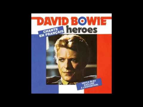 David Bowie - Heroes - Héros (English French Version)