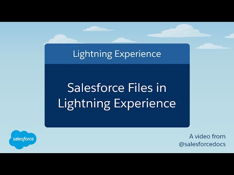 Salesforce Files In Lightning Experience