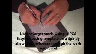 PCA Parchment Craft - SPINDY M4032  rotating work surface!