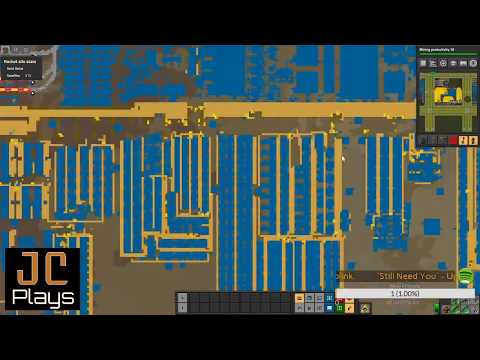 JC Plays Factorio Live #47 - 278 Hrs - Becon Powered Smelting