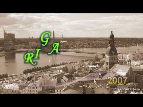 Riga (Rīga) the capital of Latvia by Cehulić family