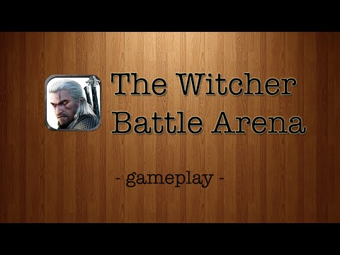 The Witcher Battle Arena [by CD Projekt RED] - iPad Gameplay Trailer |