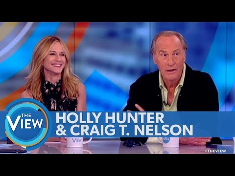 Holly Hunter, Craig T. Nelson dish on 'Incredibles 2'  The View