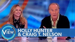 Holly Hunter, Craig T. Nelson dish on 'Incredibles 2' | The View