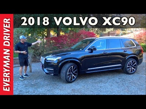 Here's the 2018 Volvo XC90 Luxury Midsize SUV Review on Everyman Driver