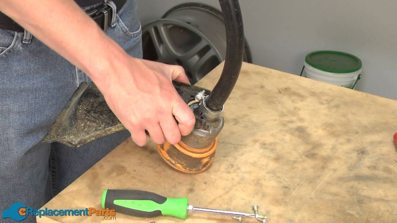 How To Replace The Guard And Blade Assembly On A Ryobi 132r String
