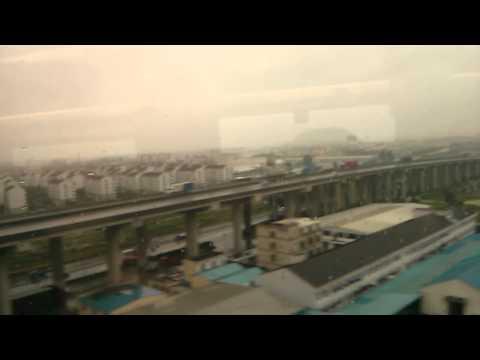 hangzhou to shanghai fast train