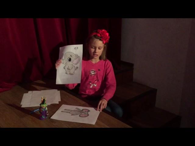 Изображение предпросмотра прочтения – АринаПоваляева читает произведение «Тучкины штучки» В.В.Маяковского