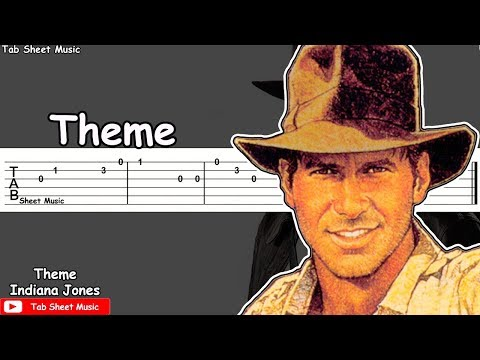 Indiana Jones - Theme Guitar Tutorial