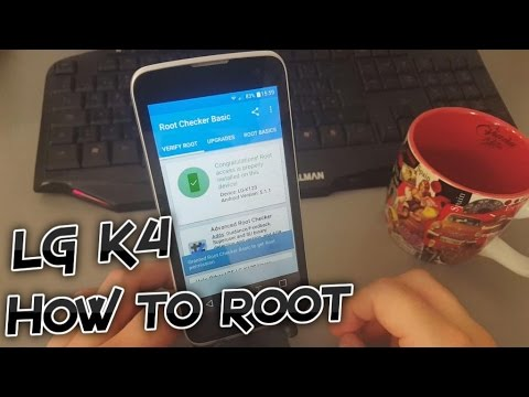 LG K4 4G - How to root (Without PC - One Click Method) [Tutorial]