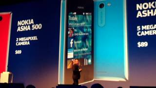 Nokia 1520, Asha 500, Asha 502 & Asha 503 Introductions At Nokia World 2013 In Abu Dhabi 10-22-13