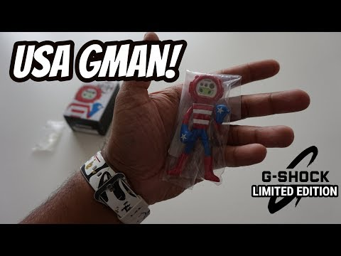 Unboxing G-Shock USA GMAN Limited Edition Soho Store NYC