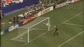 Roberto Baggio salta e.. Segna!!! - Goal vittoria contro la Spagna U.S.A. 1994