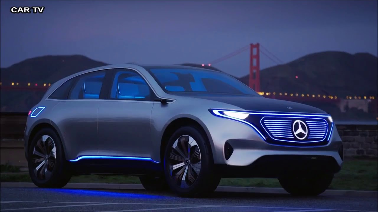 eq concept car from mercedes benz - release in 2020