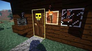 НЕ ОТКРЫВАЙ ДВЕРЬ УБЬЕТ Ловушка в Minecraft
