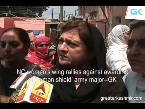 NC women's wing rallies against awarding of 'human shield' army major