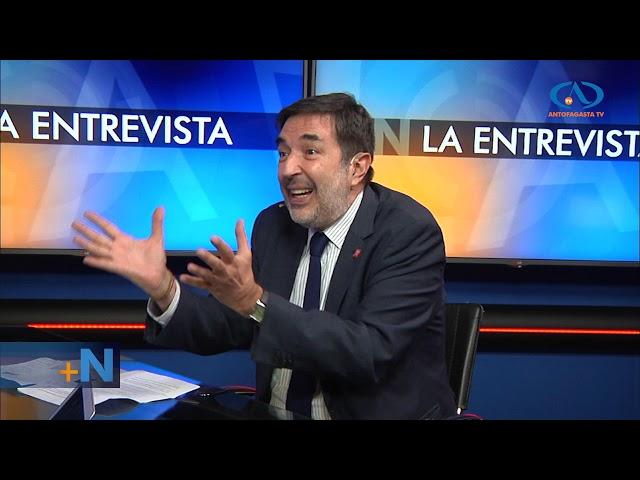 La Entrevista: Patricio Santamaría, presidente del consejo directivo del Servel