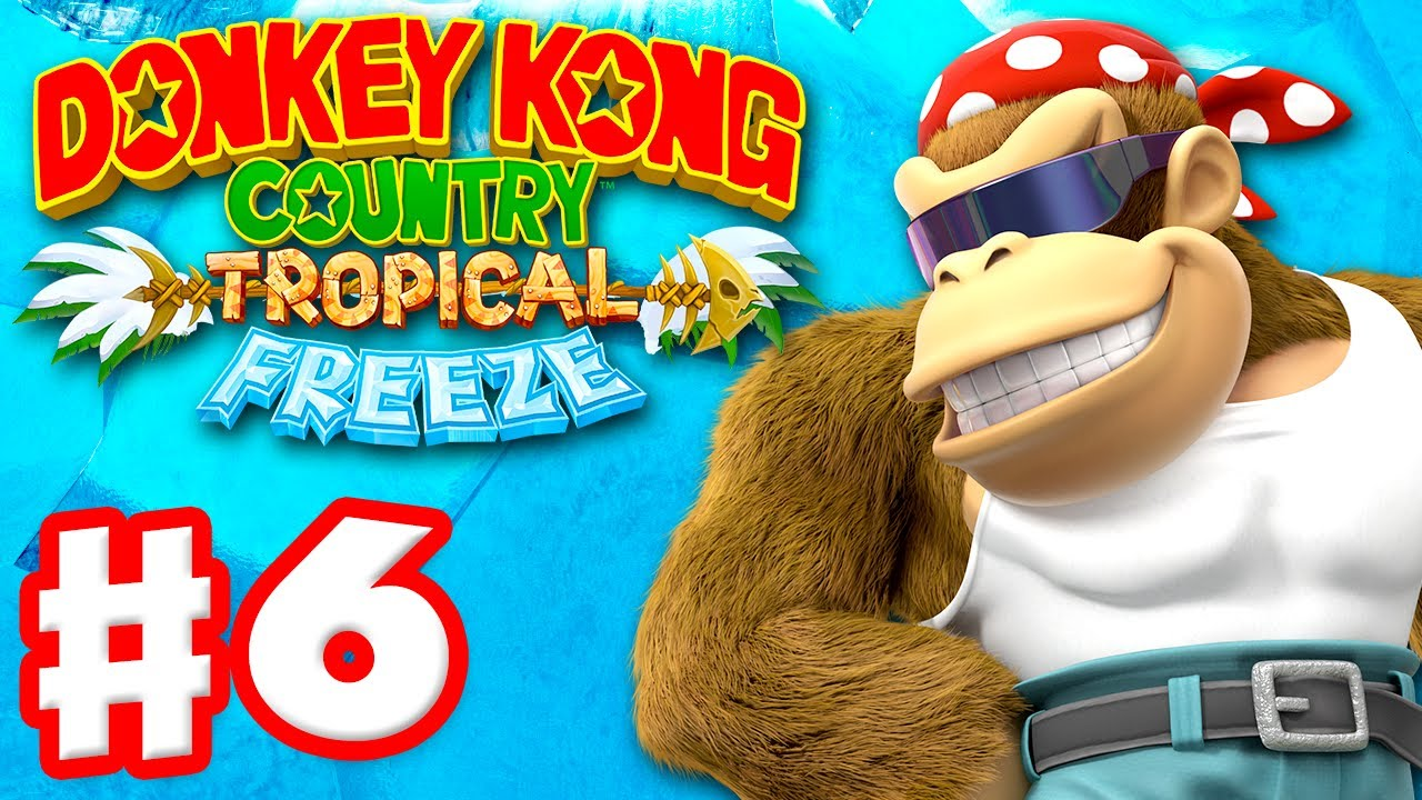 Donkey Kong Country: Tropical Freeze - Gameplay ...