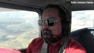 Practicando barrenas spins) en el Cessna 150