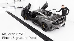 High End Detailing McLaren 675LT Finest Signature Detail