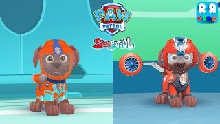 PAW Patrol Air and Sea Adventures - Sea Patrol With Zuma | The Flight and The Sea Zuma