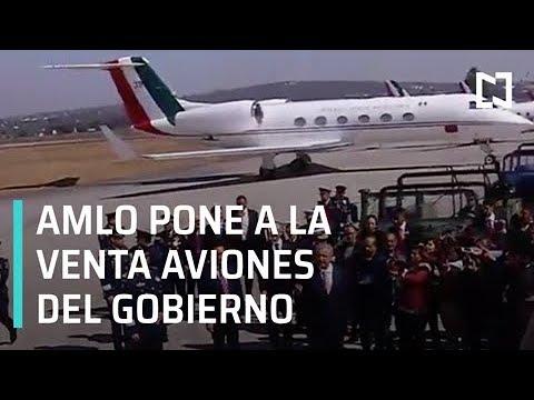 El presidente López Obrador anuncia venta de aviones del gobierno - Despierta con Loret