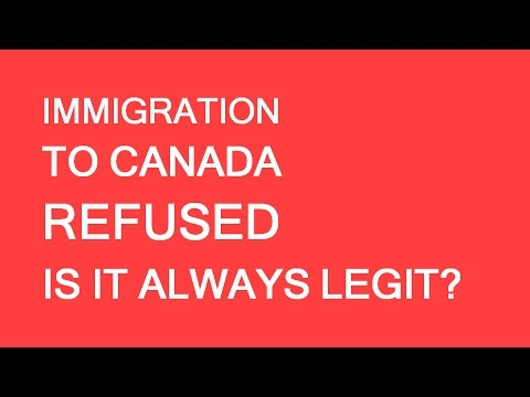 Refusal example. Immigration Canada. LP Group