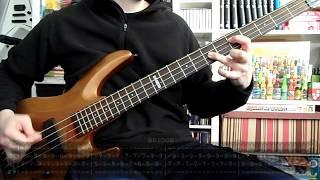BLACK SABBATH - Paranoid (bass cover w/ Tabs)
