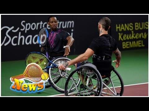 Wheelchair Quad Target Slipper Chair Covers Wimbledon Announces Doubles Exhibition Youtube