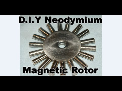 DIY Neodymium Rotor and  Maglev purpose Ring magnet resin removal :) It Worked yipeeee.