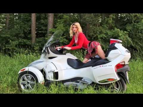 Can Am Trike >> BRP CAN-AM SPYDER and BEAUTIFUL GIRLS Summer 2017 SPb
