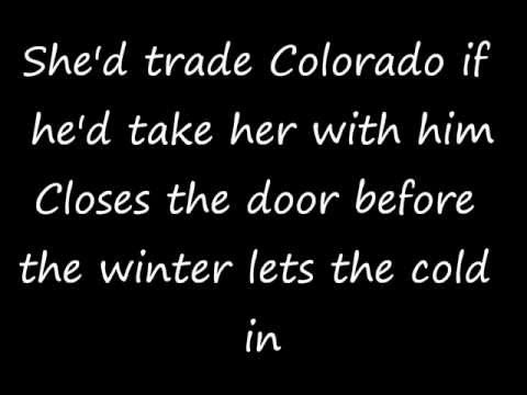 Zac Brown Band - Colder Weather (Lyrics On Screen)