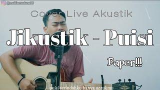 Jikustik - Puisi Cover Akustik [ Lirik ] Hibur Diri Channel