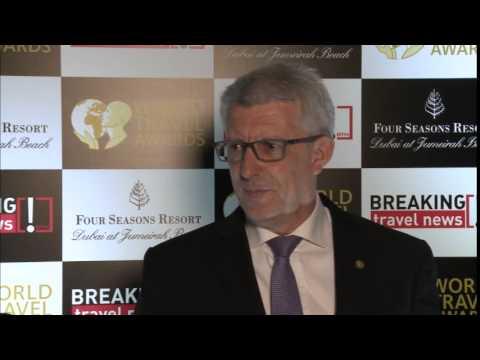 David Brown, general manager, Fraser Suites Dubai