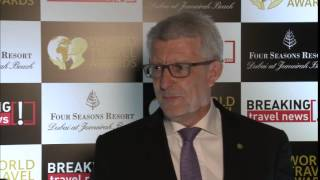 Mr. David Brown, General Manager, Fraser Suites Dubai